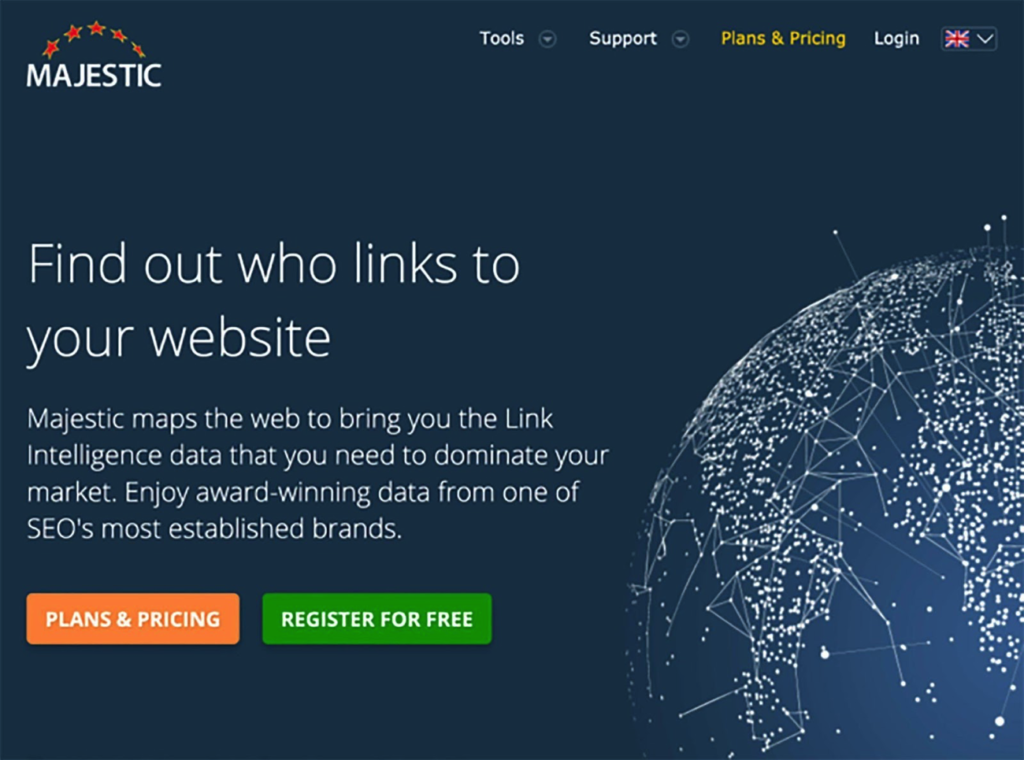 Majestic Link Building Tool